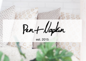 #EndHomelessness with Pen + Napkin