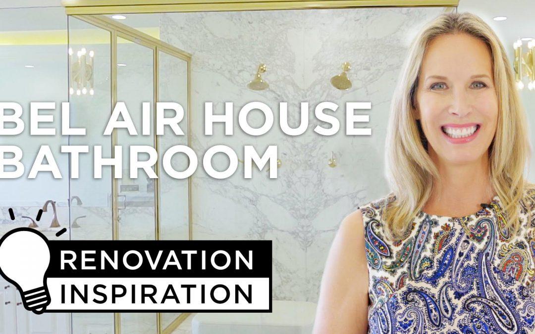 Lori Dennis Renovation Inspiration for Lamps Plus Bathroom Design