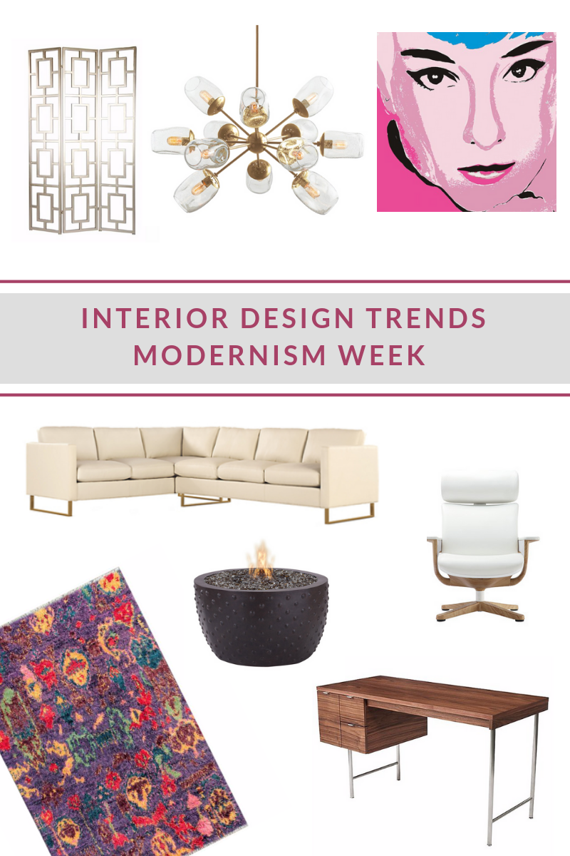 INTERIOR DESIGN TRENDS MODERNISM WEEK