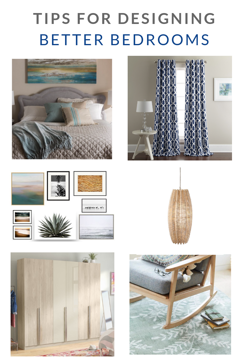 TIPS FOR DESIGNING BETTER BEDROOMS
