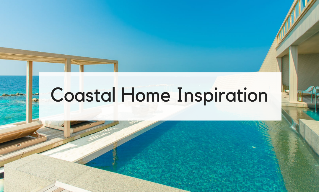 Coastal Color Palettes with the Pantone Color of the Year Living Coral and Other Beach House Decor Tips