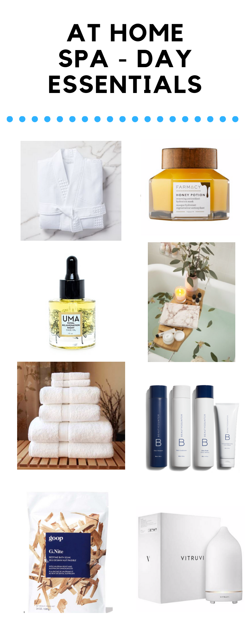 AT HOME SPA - DAY ESSENTIALS