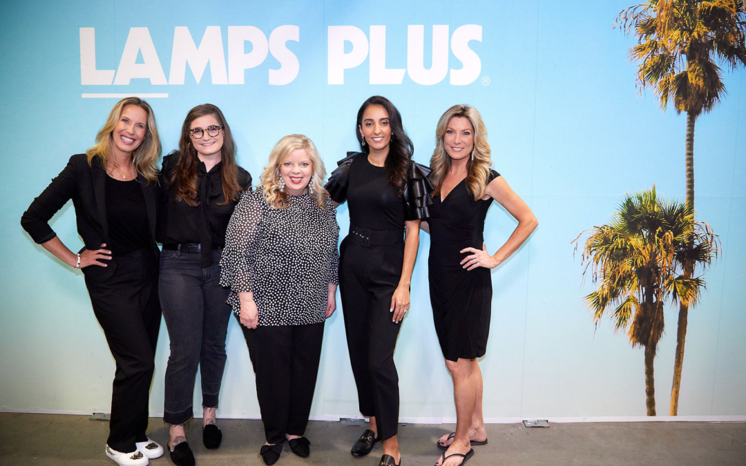 Surprise! Lori Dennis is a Lamps Plus Brand Ambassador