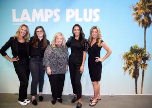 Surprise! Lori Dennis is a Lamps Plus Brand Ambassador