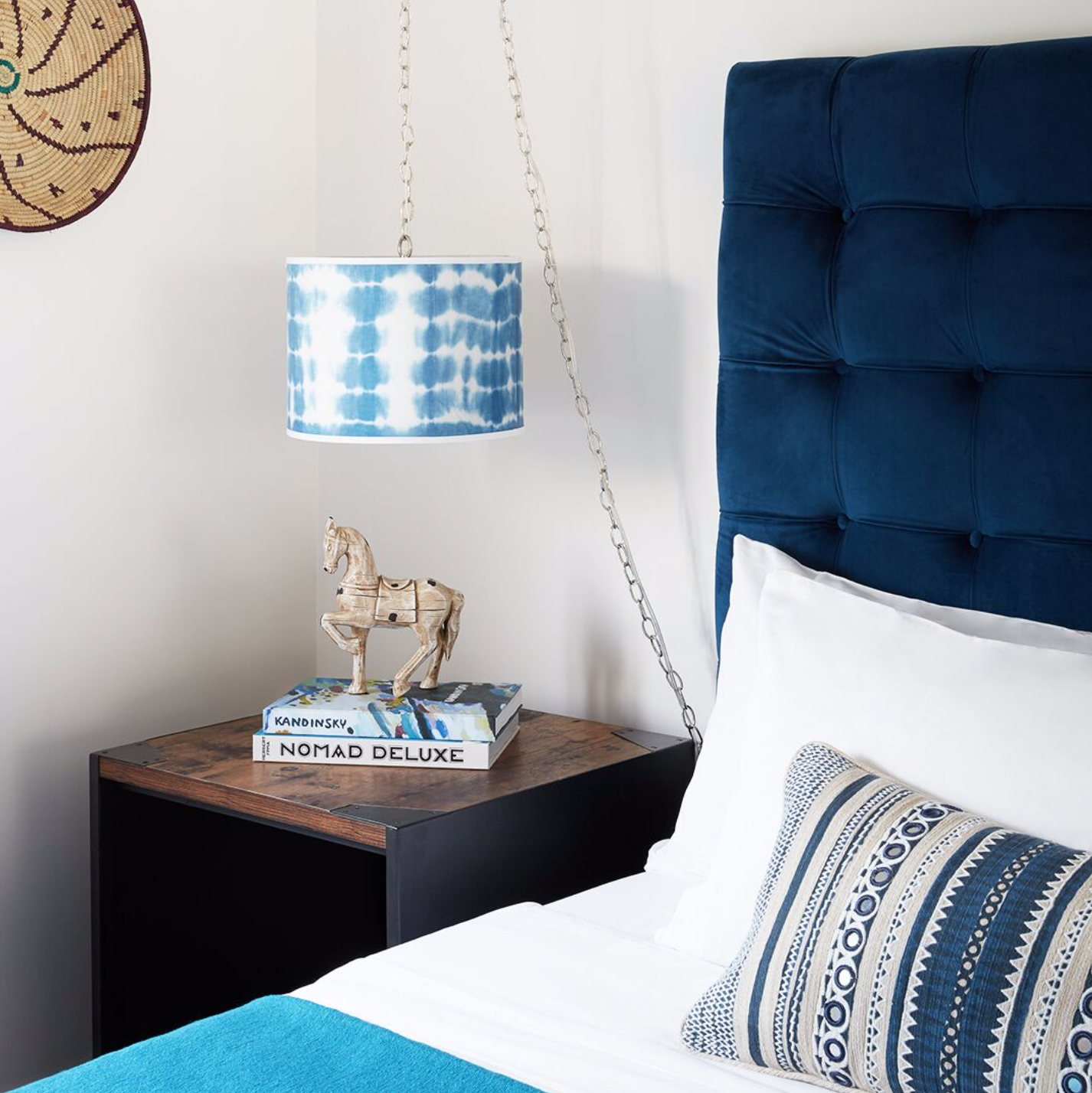 Renovation Inspiration Season II bedroom with coastal accents