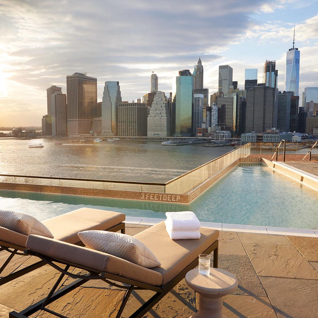 one hotel brooklyn manhattan skyline