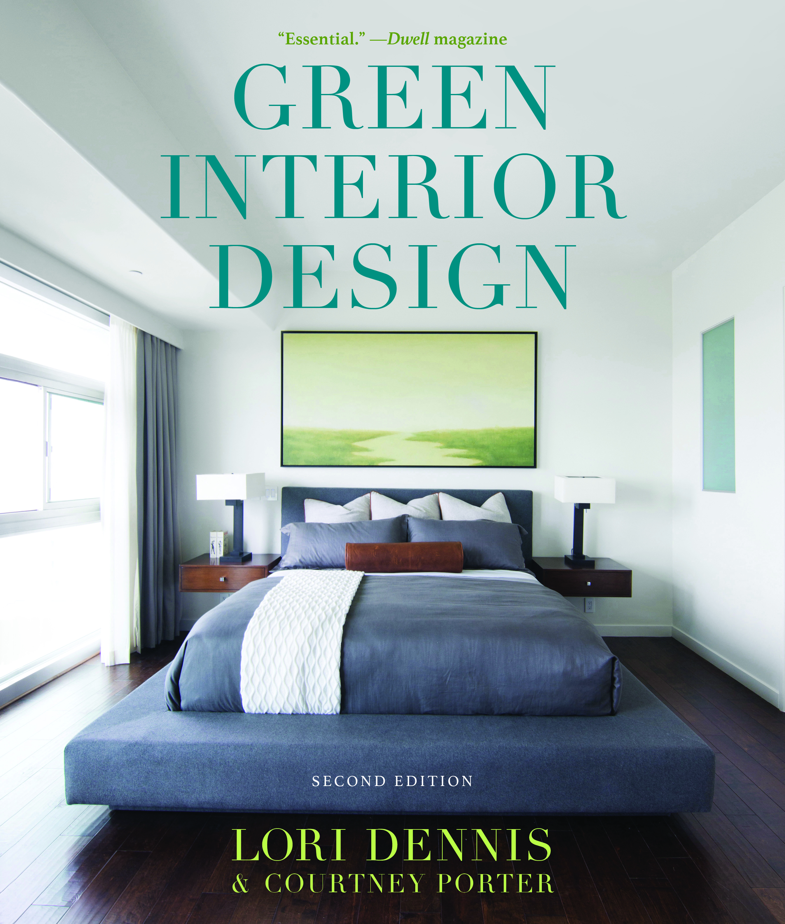 Green Interior Design by Courtney Porter and Lori Dennis