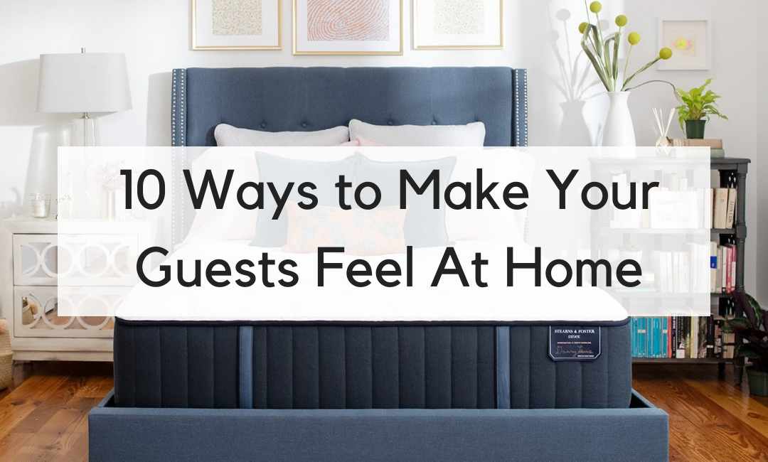 10 Ways to Get Your Guest Bedroom in Shape for the Holidays