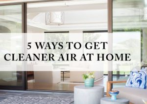 5 Easy Ways to Get Clean Air at Home