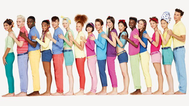 Benetton Ad of Colors