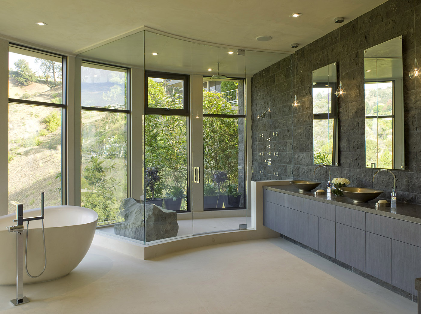 Hollywood hills master bathroom design project the design - Hollywood Hills Master Bathroom Design Project The Design 3