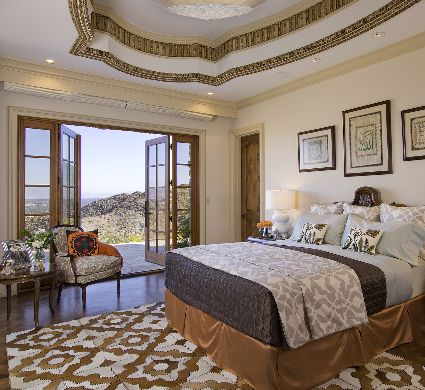 Old world luxe for Old world bedroom