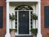 1 - Lori Dennis Interior Design Lake Sherwood Front Door 1