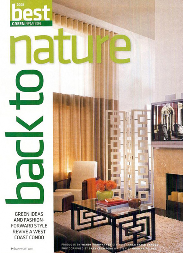 Celebrity Los Angeles Interior Designer Lori Dennis Remodeling & Makeovers  June, 2008