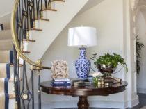 4 - Lori Dennis Interior Design Lake Sherwood Entry Staircase