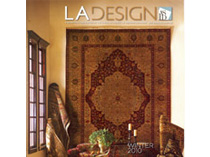 Celebrity Los Angeles Interior Designer Lori Dennis LA Design Magazine Winter, 2010