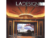Celebrity Los Angeles Interior Designer Lori Dennis LA Design Magazine Winter 2008