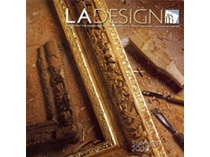 Celebrity Los Angeles Interior Designer Lori Dennis LA Design Magazine Summer, 2009