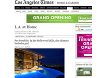 Celebrity Los Angeles Interior Designer Lori Dennis Los Angeles Times August, 2010