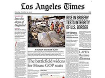 Los Angeles Times February, 2008
