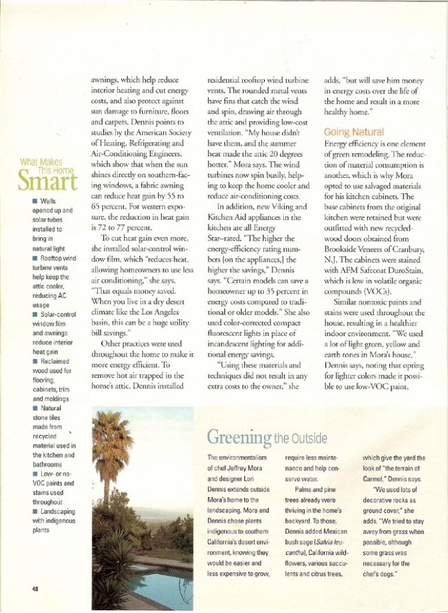 Celebrity Los Angeles Interior Designer Lori Dennis Smart Homeowner Magazine