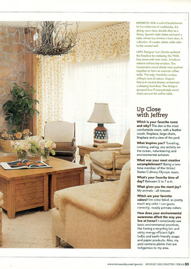 Celebrity Los Angeles Interior Designer Lori Dennis Woman's Day