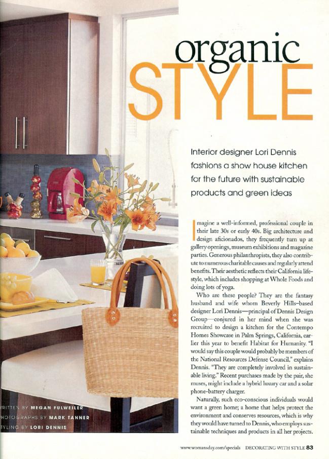 Celebrity Los Angeles Interior Designer Lori Dennis Woman's Day (Special)