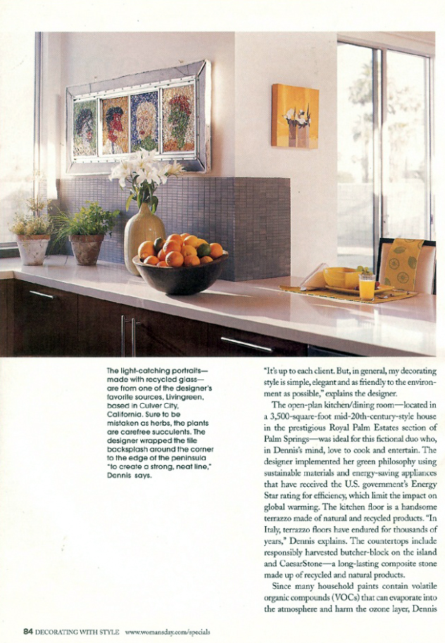 Celebrity Los Angeles Interior Designer Lori Dennis Woman's Day (Special)