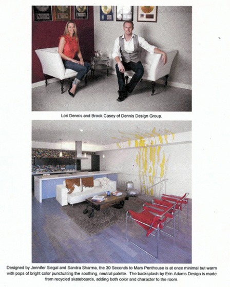 Celebrity Los Angeles Interior Designer Lori Dennis California Home + Design December, 2009