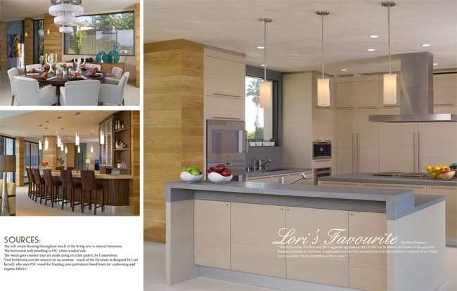 Celebrity Los Angeles Interior Designer Lori Dennis Pure Green Winter, 2011