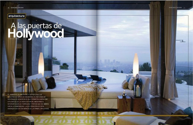 Celebrity Los Angeles Interior Designer Lori Dennis Los Angeles Vivir Bien Decora June, 2011