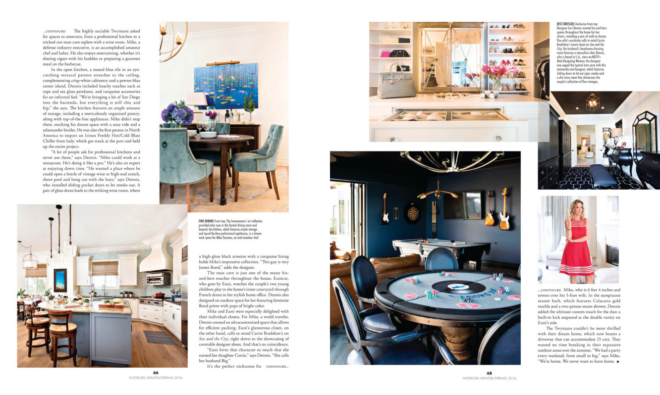 Modern Luxury Interior California Winter/Spring 2016