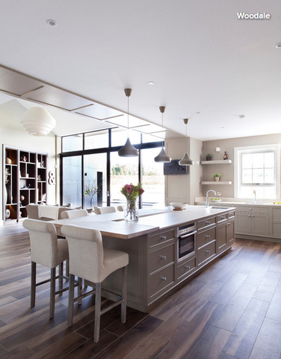 Houzz ask an expert 10 tips to open the kitchen to the for Houzz cocinas