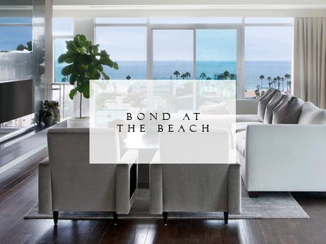 Bond at the Beach