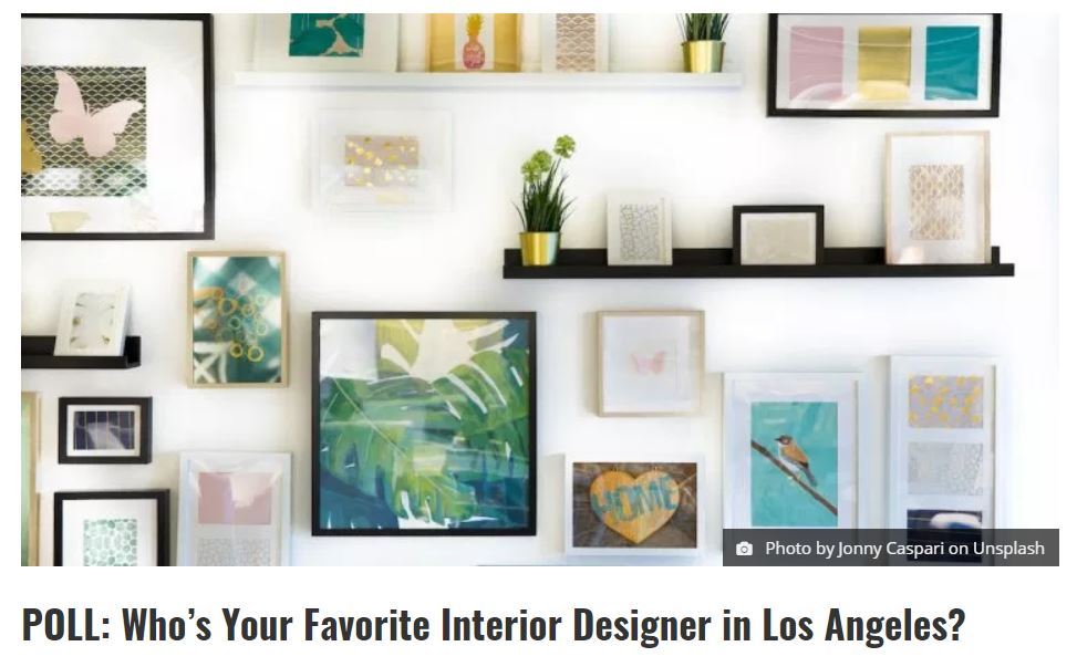Lori dennis inc named top favorite los angeles interior - Interior design firm los angeles ...